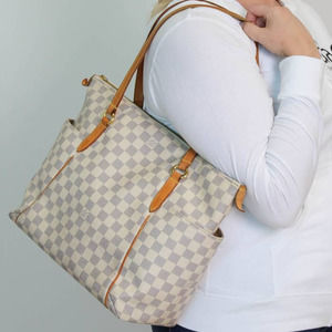 🌟AUTHENTIC🌟 LV Damier Azur Totally MM